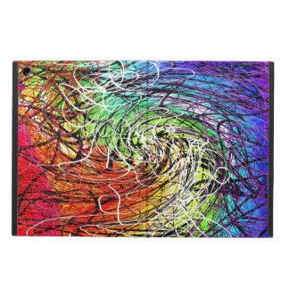rainbow string theory twist Powis iPad Air case