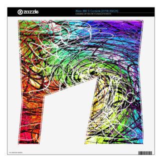 rainbow string theory twist  Xbox 360 S skin