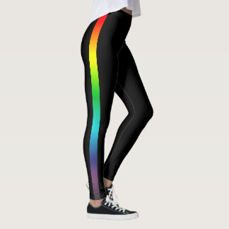 Rainbow Stripe Leggings