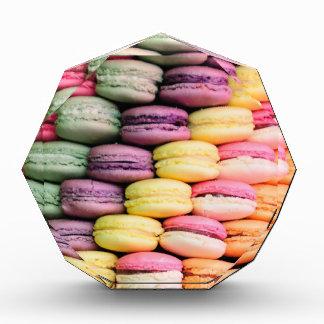 Rainbow Stripe of Stacked French Macaron Cookies Award