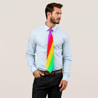 Rainbow Stripe Tie
