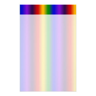 Rainbow Stripes Abstract Blur Colorful Gifts Stationery Design