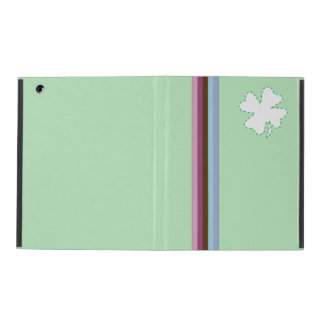 rainbow stripes & blue green ipad 2/3/4 case iPad case