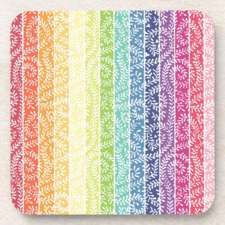 Rainbow Stripes Coaster