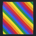 "Rainbow Stripes Colorful Bandana For People &amp; Pets<br><div class=""desc"">Rainbow Stripes Colorful Bandana For People &amp; Pets</div>"