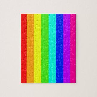rainbow stripes colorful bars jigsaw puzzles