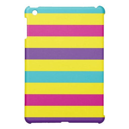 Rainbow Stripes Cover For The iPad Mini