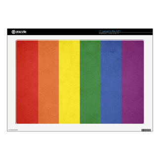 Rainbow stripes decals for laptops