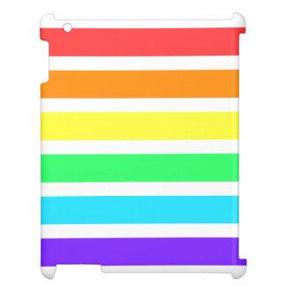 Rainbow Stripes Glossy iPad Air Mini Retina Case Case For The iPad