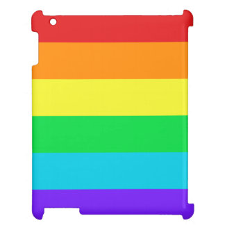 Rainbow Stripes Glossy iPad Air Mini Retina Case Cover For The iPad