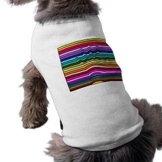 Rainbow Stripes Hand Pet Clothes