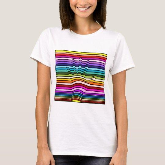 Rainbow Stripes Hand T-Shirt