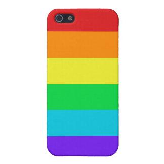 Rainbow Stripes iPhone 5/5S Matte Finish Case