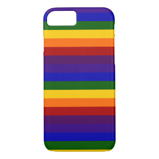 Rainbow Stripes iPhone 7 Case