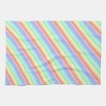 Rainbow Stripes Kitchen Towel