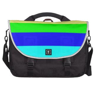 Rainbow Stripes Laptop Commuter Bag