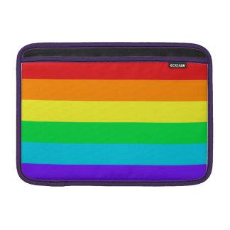 """Rainbow Stripes Macbook Air 11"""" Horizontal Sleeve MacBook Air Sleeves"""