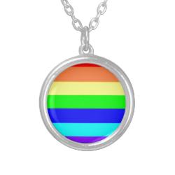 Rainbow Stripes Necklace