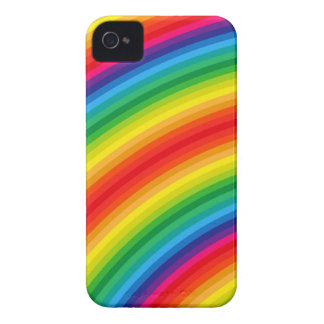 Rainbow Stripes Pattern Case-Mate iPhone 4 Case