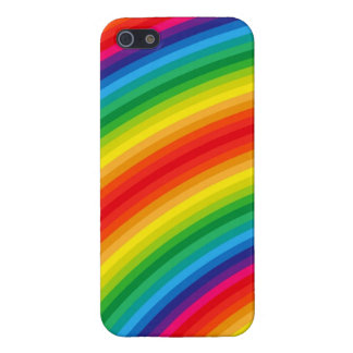 Rainbow Stripes Pattern Cover For iPhone SE/5/5s
