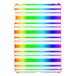 Rainbow Stripes Pattern iPad Mini Case