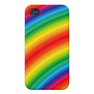 Rainbow Stripes Pattern iPhone 4/4S Cover