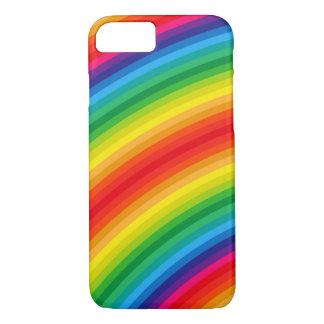 Rainbow Stripes Pattern iPhone 7 Case