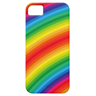 Rainbow Stripes Pattern iPhone SE/5/5s Case