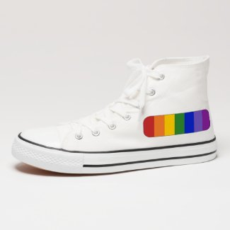 Rainbow Stripes Pattern Patch