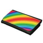 Rainbow Stripes Pattern Women's Wallets