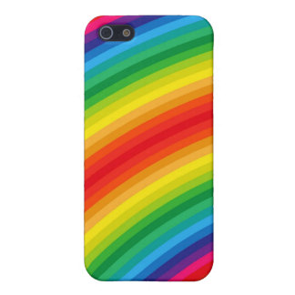 Rainbow Stripes Pern Case For iPhone SE/5/5s