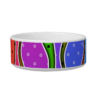 RAINBOW STRIPES PET or SNACK BOWL