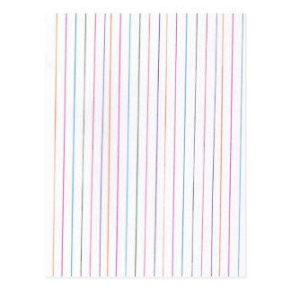 Rainbow Stripes Post Cards