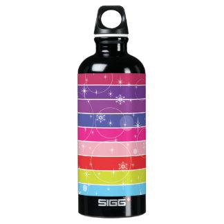Rainbow Stripes SIGG Traveler 0.6L Water Bottle