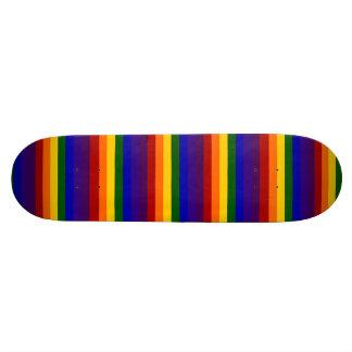 Rainbow Stripes Skateboards