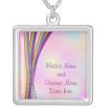 Rainbow Stripes Wedding Jewelry