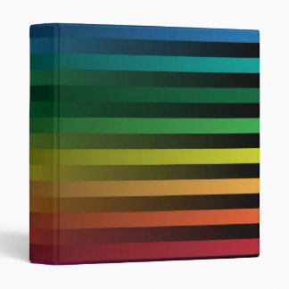Rainbow Strips Binder
