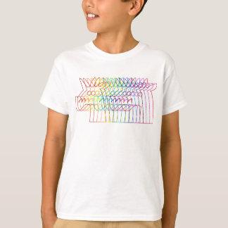 Rainbow Stroke Unicorn T-Shirt