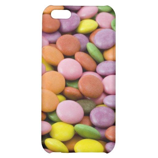 Rainbow sugar candies photograph iPhone 5C cover
