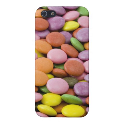 Rainbow sugar candies photograph covers for iPhone 5