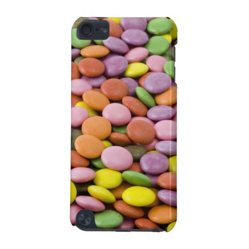 Rainbow sugar candies photograph iPod Touch case