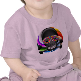 Rainbow Sugar Skull Shirt