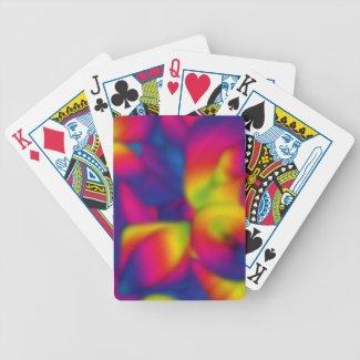 Rainbow Sumo Bicycle Poker Deck