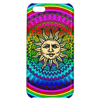 Rainbow Sun iPhone 5C Case