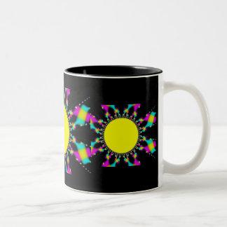Rainbow Sun Coffee Mugs