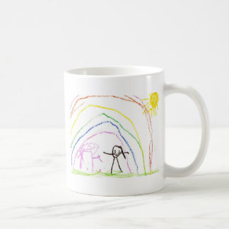 Rainbow Sunshine Friends Coffee Mug