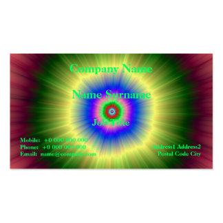 Rainbow Super Nova Business Card