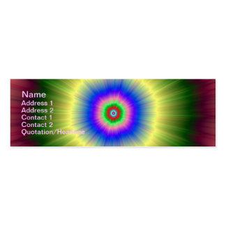Rainbow Super Nova Mini Business Card