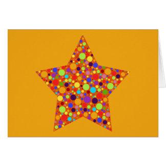 Rainbow Superstar Card