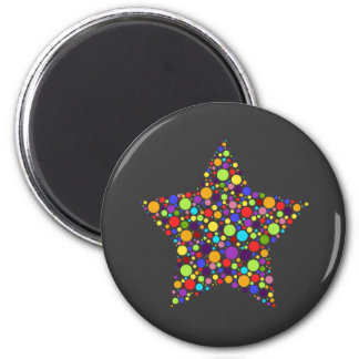 Rainbow Superstar Fridge Magnet